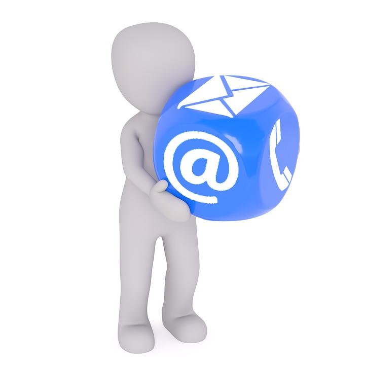 logo mail e telefono